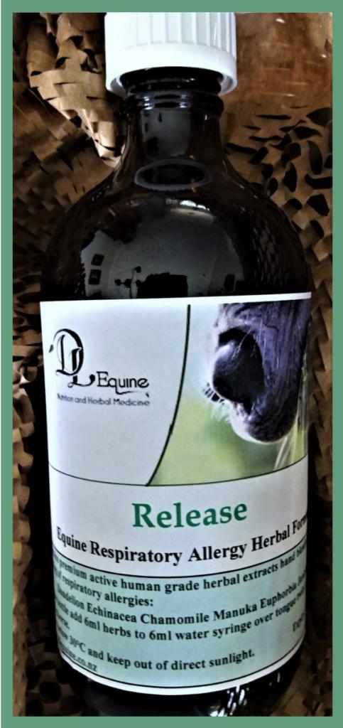 DL Equine Release Respiratory Allergy Herbal Formula